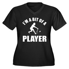 I'm a bit of a player badminton Women's Plus Size