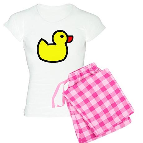 Duck Icon - Rubber Ducky Women's Light Pajamas
