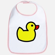 Duck Icon - Rubber Ducky Bib