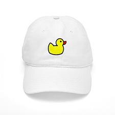 Duck Icon - Rubber Ducky Baseball Baseball Cap