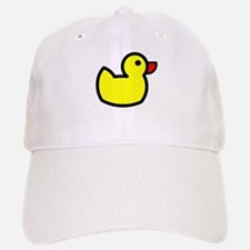 Duck Icon - Rubber Ducky Baseball Baseball Cap