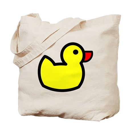 Duck Icon - Rubber Ducky Tote Bag