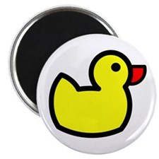 Duck Icon - Rubber Ducky Magnet