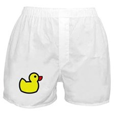 Duck Icon - Rubber Ducky Boxer Shorts