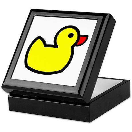 Duck Icon - Rubber Ducky Keepsake Box