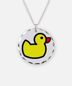 Duck Icon - Rubber Ducky Necklace