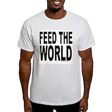 Feed the World Ash Grey T-Shirt