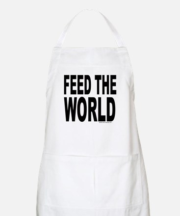 Feed the World BBQ Apron