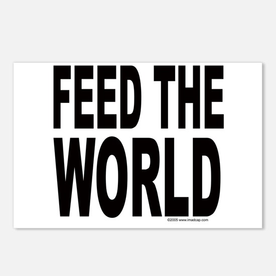 Feed the World Postcards (Package of 8)