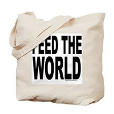 Feed the World Tote Bag