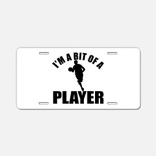 I'm a bit of a player basket ball Aluminum License