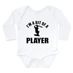 I'm a bit of a player cricket Long Sleeve Infant B