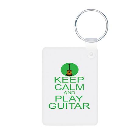 Keep Calm Play Guitar (Acoustic) Aluminum Photo Ke