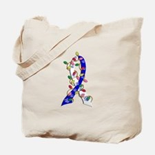 Christmas Lights Ribbon ALS Tote Bag