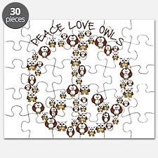 Peace Love Owls Puzzle