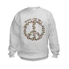 Peace Love Owls Sweatshirt