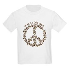 Peace Love Owls T-Shirt