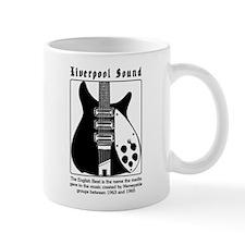 BEATLEGUITAR1 Small Mug