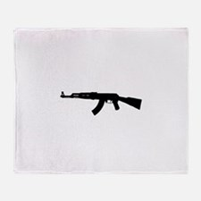 Unique Firearms Throw Blanket