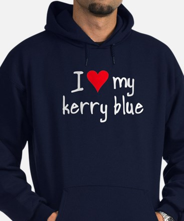 I LOVE MY Kerry Blue Hoodie (dark)