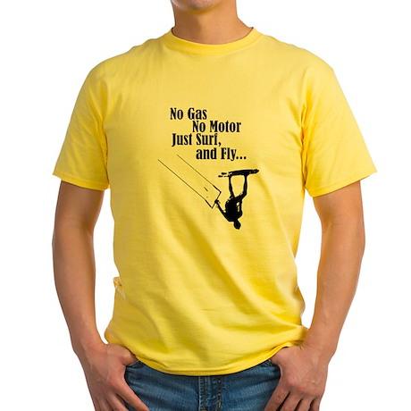Kite Surf Yellow T-Shirt
