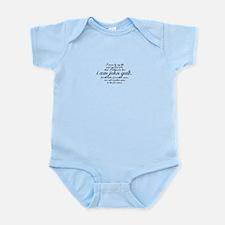 I Am John Galt Script Infant Bodysuit