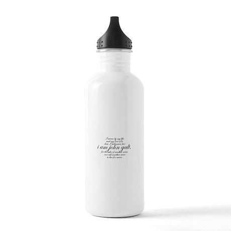 I Am John Galt Script Stainless Water Bottle 1.0L