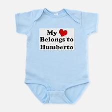My Heart: Humberto Infant Creeper