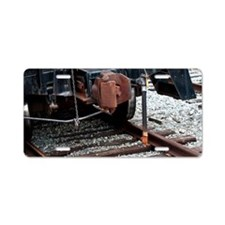 Rusty Coupler Aluminum License Plate