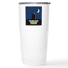 Lie Awake At Night Travel Mug