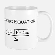 Quadratic Equation Mugs