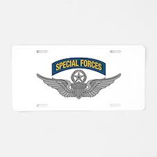 Aviator - Master -w- SF Tab Aluminum License Plate