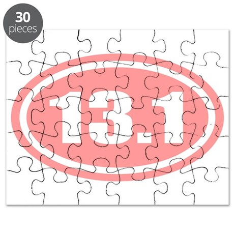 Pink 13.1 Half Marathon Puzzle