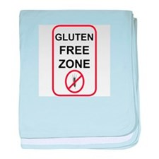 Gluten-Free Zone baby blanket