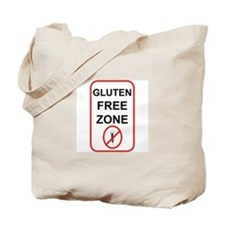 Gluten-Free Zone Tote Bag