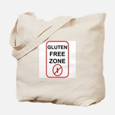 Gluten-Free Zone Tote Bag