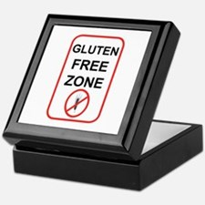 Gluten-Free Zone Keepsake Box