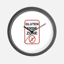 Gluten-Free Zone Wall Clock