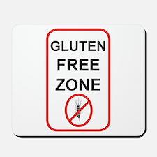 Gluten-Free Zone Mousepad