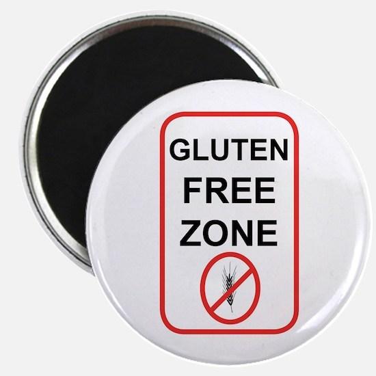 Gluten-Free Zone Magnet