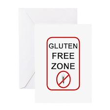 Gluten-Free Zone Greeting Card