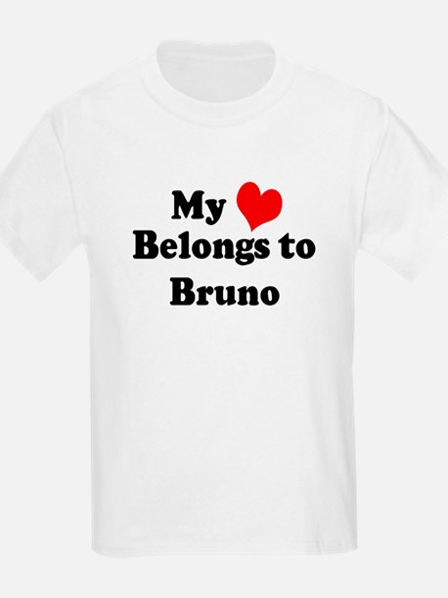 My Heart: Bruno Kids T-Shirt
