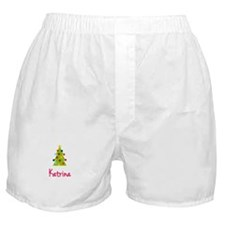 Christmas Tree Katrina Boxer Shorts