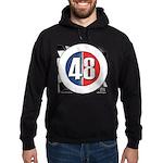 48 Cars Logo Hoodie (dark)