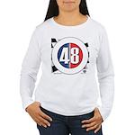 48 Cars Logo Women's Long Sleeve T-Shirt