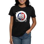 48 Cars Logo Women's Dark T-Shirt