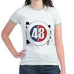 48 Cars Logo Jr. Ringer T-Shirt