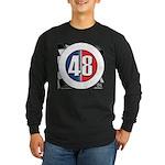 48 Cars Logo Long Sleeve Dark T-Shirt