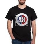 48 Cars Logo Dark T-Shirt