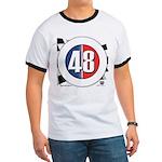 48 Cars Logo Ringer T